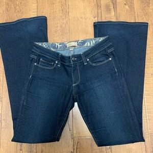 Paige canyon flare jeans size 27
